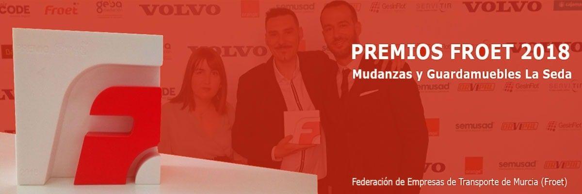 FROET ha acordado, por unanimidad del jurado, otorgar sus Premios del Transporte 2018 a Mudanzas y Guardamuebles La Seda S.L