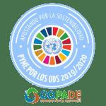 Sello acreditativo de participación, que reconoce el trabajo conjunto de nuestras entidades en el marco del proyecto, y amerita el impacto positivo de su empresa en la transformación social, económica y ambiental que supone la Agenda 2030 en España