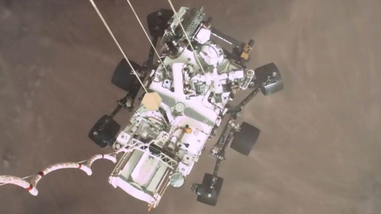 'Perseverance' consigue el primer vídeo de la historia de un aterrizaje en Marte - 15:56 horas del este de Estados Unidos