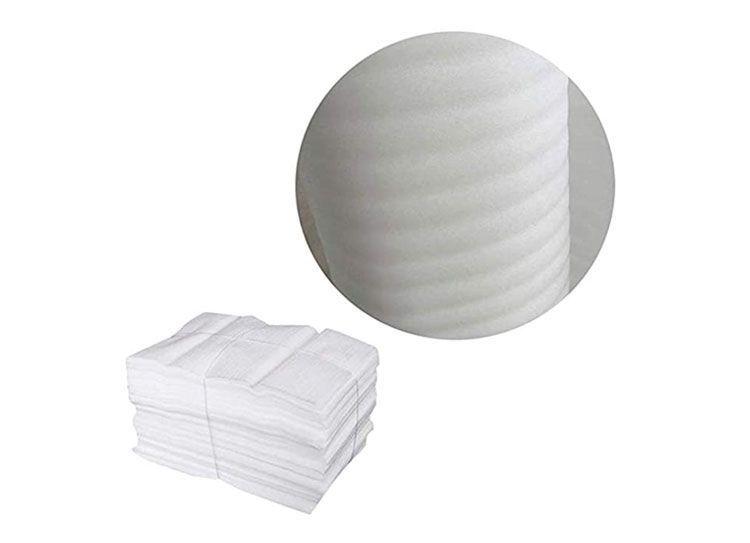 50 Piezas Espuma de Embalaje, Plástico de Burbujas Espuma, Material de Acolchado de Embalaje Película Espuma EPE, para Embalaje Seguro de Tazas Vajillas, Muebles de Vidrio Porcelana (25 x 30cm)